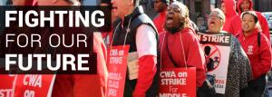 CWA strike pic