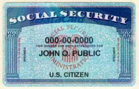 Soc Sec card