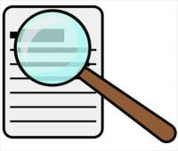 magnifying-glass-over-document