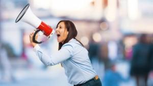 woman-using-bullhorn