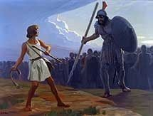 David v Goliath (Gebhard Fugel)