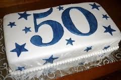 50 BD Cake