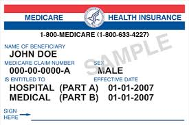 medicare generic card